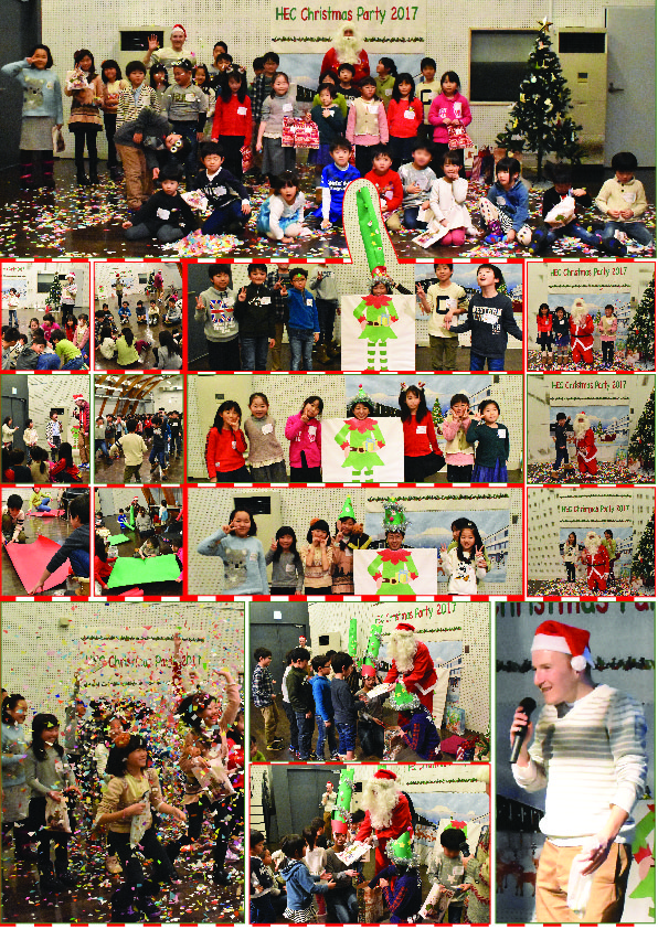 collage christmas
